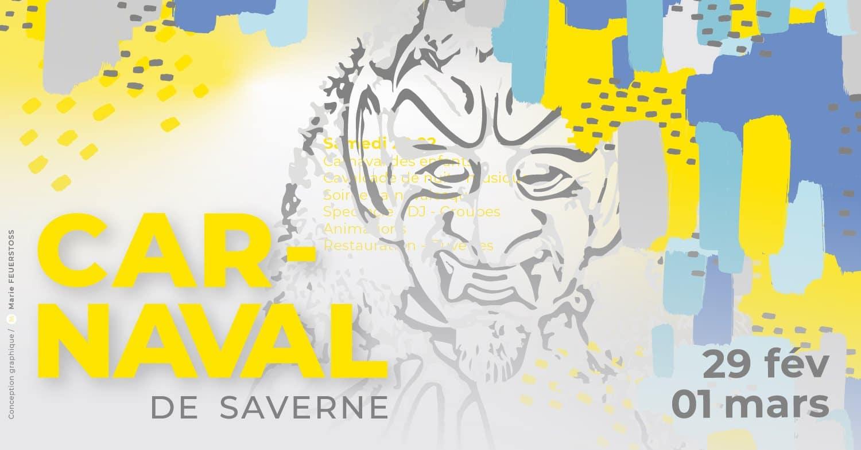 affiche carnaval saverne 2020 déclic