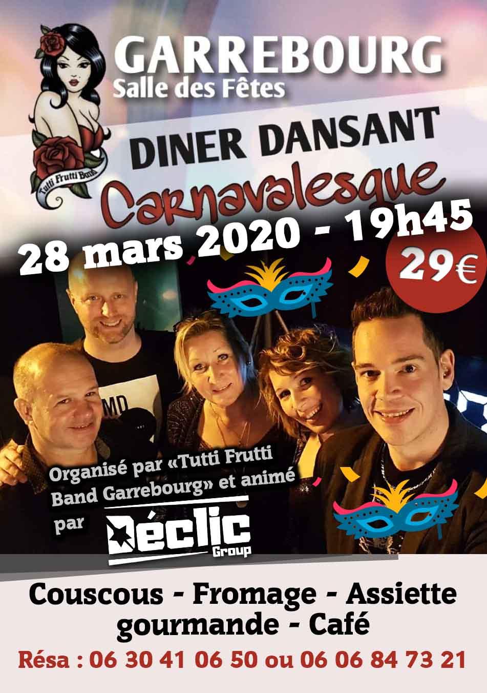 Carnaval de Garrebourg – 28 mars 2020