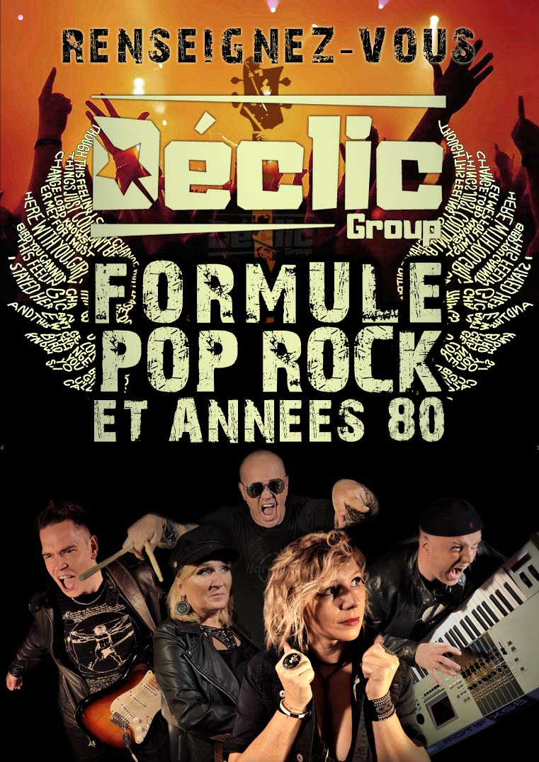 Formule Pop rock déclic